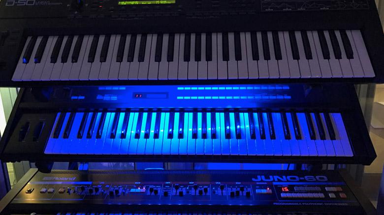 1980s Vintage Keyboards